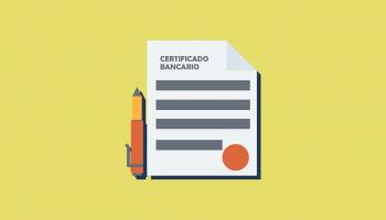 Certificado bancario del Banco Pichincha